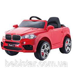 Детский электромобиль Джип T-7830 EVA RED деткам 3-8 лет  с пультом мотор 2*25W с MP3