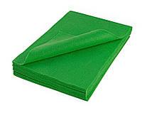 Фетр Мягкий Зеленый полушерстяной Испанский 1.3 мм 20x30 см