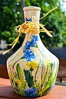 Очаровательная бутылка,графин,ваза!Винтаж! Прованс