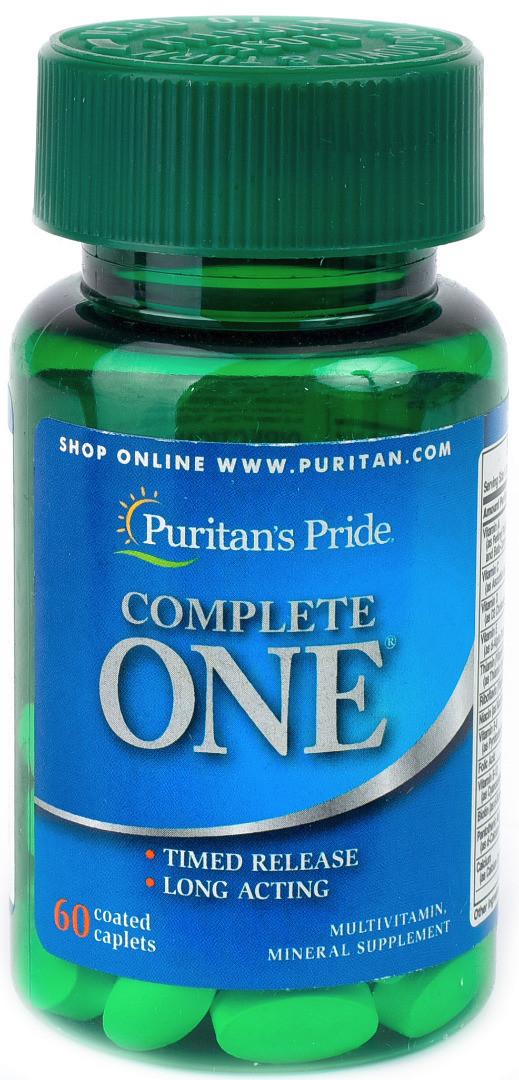 Puritan's Pride Complete ONE (60 капс.)