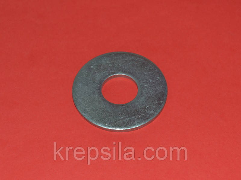 Шайба М27 увеличенная оцинкованная ГОСТ 6958-78