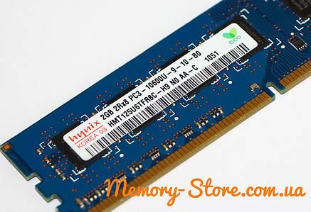 Оперативная память для ПК Hynix DDR3 2Gb PC3-10600 1333MHz Intel и AMD, б/у, фото 2