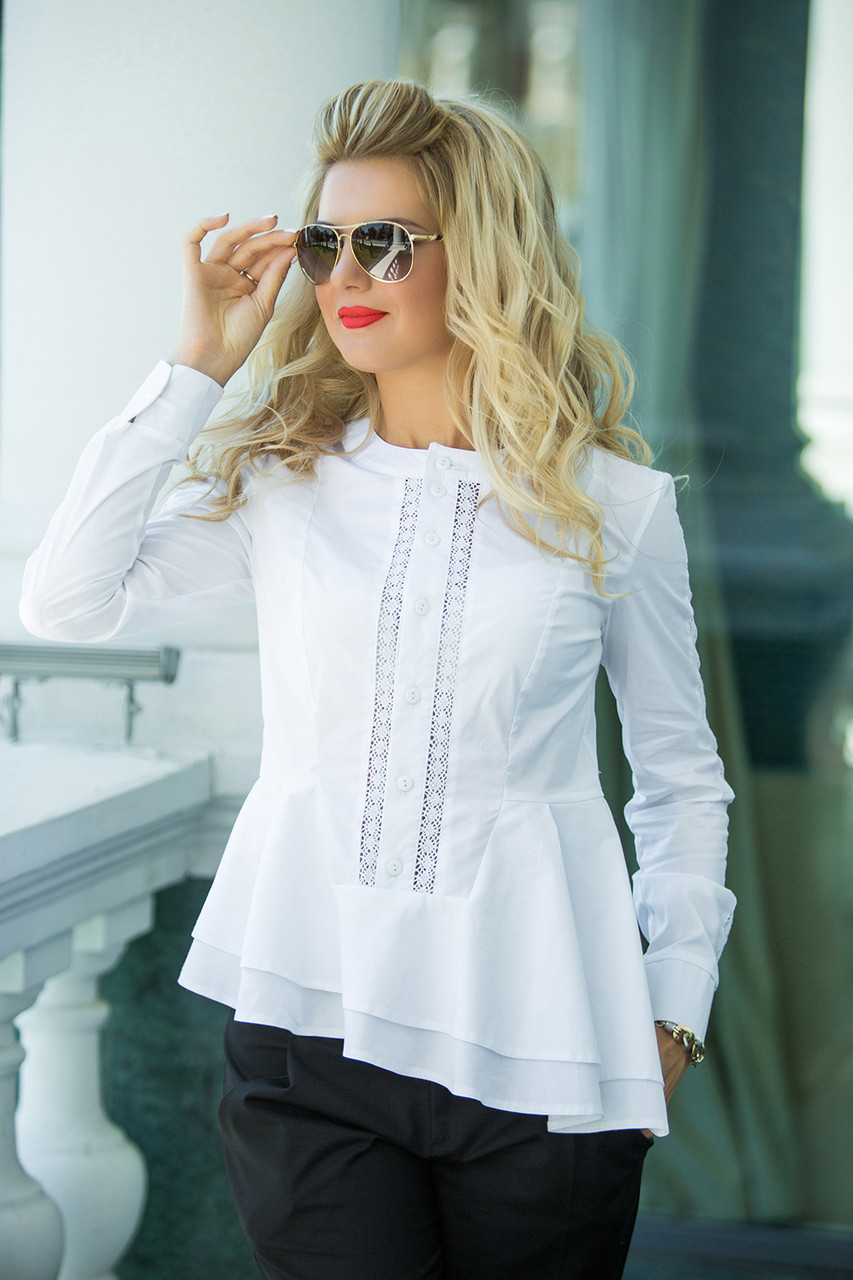 Белая Рубашка Бьянка