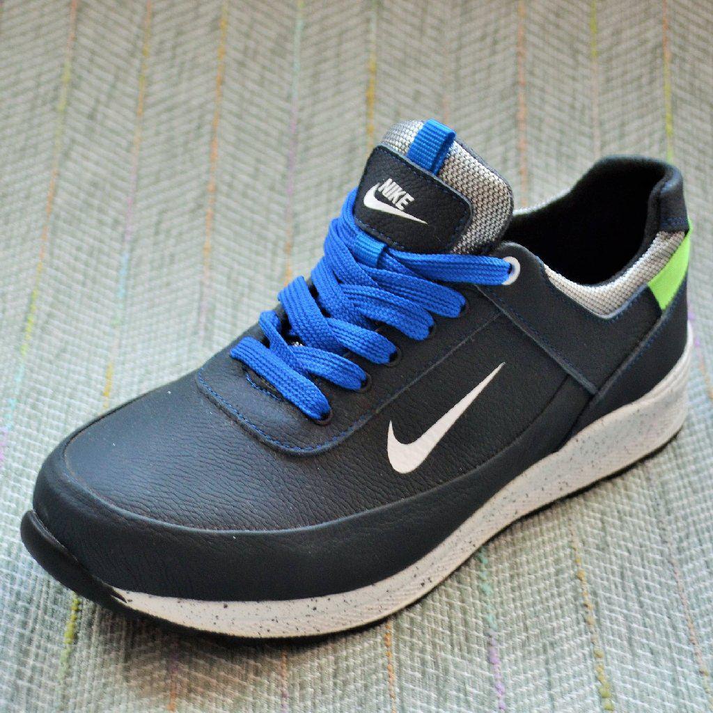 ac8f01ba Купить Кожаные кроссовки мальчик, в стиле Nike размер 37 39 в ...