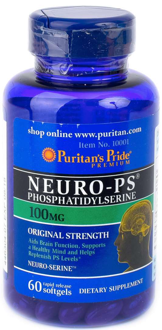 Puritan's Pride Neuro-PS 100mg (60 капс.)