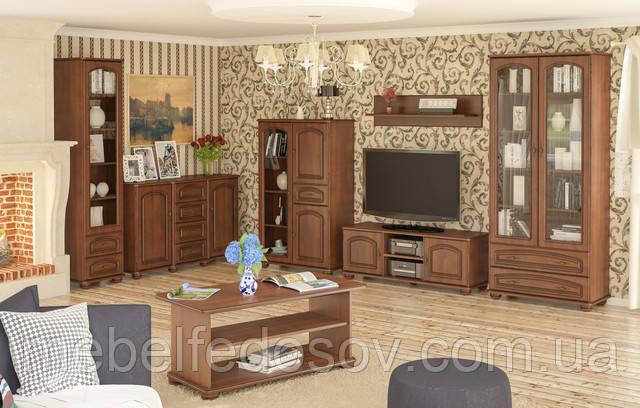 Модульная гостиная Салма Мебель Сервис