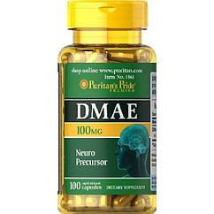 Puritan's Pride DMAE, Диметиламіноетанол 100mg (100 капс.)