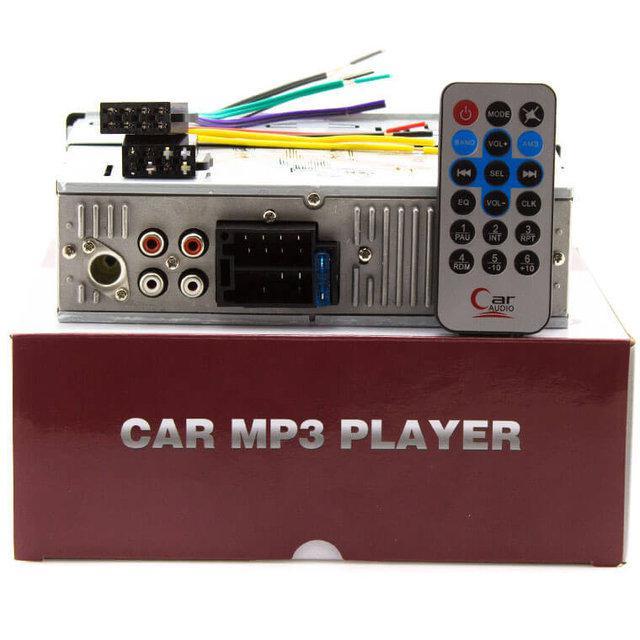 Автомобильная Магнитола радио FM приемник МР3 SP-1243 МР3 и WMA