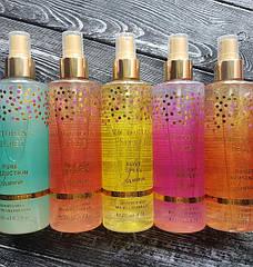 Спрей для тела Виктория Сикрет: коллекция чарующей парфюмерии