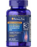 Puritan's Pride Glucosamine Chondroitin MSM Double Strength (60 таб.)