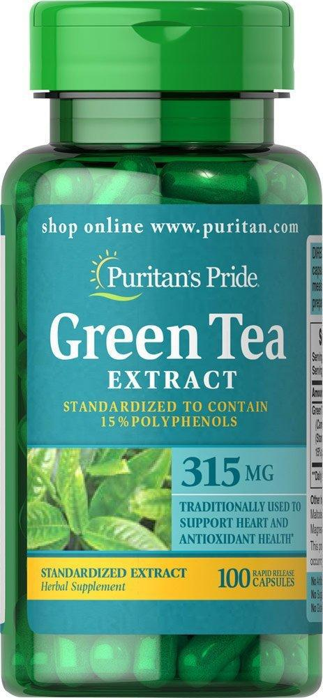 Puritan's Pride Green Tea 315mg (100 капс.)