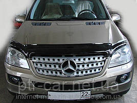 Дефлектор капота, мухобойка Mercedes-Benz ML с 2005 г.в. (W164) VIP