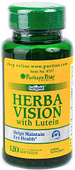 Puritan's Pride Herbavision with Lutein (120 капс.)