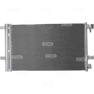 Радиатор кондиционера Chevrolet Cruze CDTI 635*359мм по сотах (с осушителем) KEMP