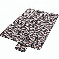 Podarki Водонепроницаемый коврик для пикника Фламинго (Black)
