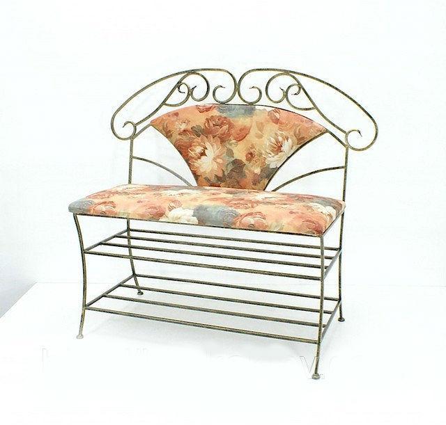 Кованая мебель: диваны, банкетки, пуфики, стулья.