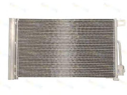 Радиатор кондиционера Citroen Nemo (570*353мм по сотах) KEMP