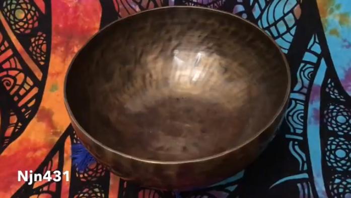 Тибетская поющая чаша (Njn431)