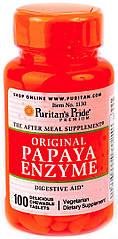 Puritan's Pride Papaya Enzyme (100 капс.)