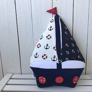Подушка декоративна Кораблик