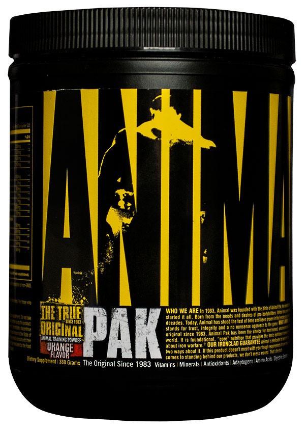 Universal Nutrition Animal Pak Powder (369 гр.) термін 09/19 включно