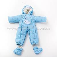 Зимний комбинезон-трансформер Мишка для новорожденных, многофункциональный 4 в 1,Новинка, фото 1