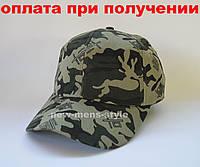 Мужская чоловіча модная кепка бейсболка хаки камуфляжный унисекс, фото 1