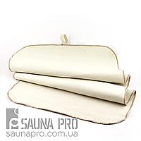 Коврик для сауны светло-серый XXL, Saunapro