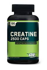 Optimum Nutrition Creatine 2500 Caps, Креатин моногідрат (100 капс.)