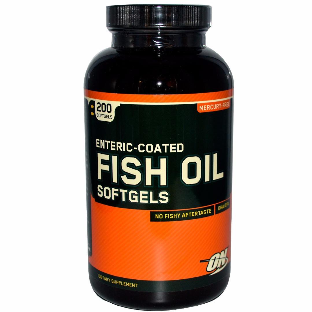 Optimum Nutrition Fish Oil (200 кап)