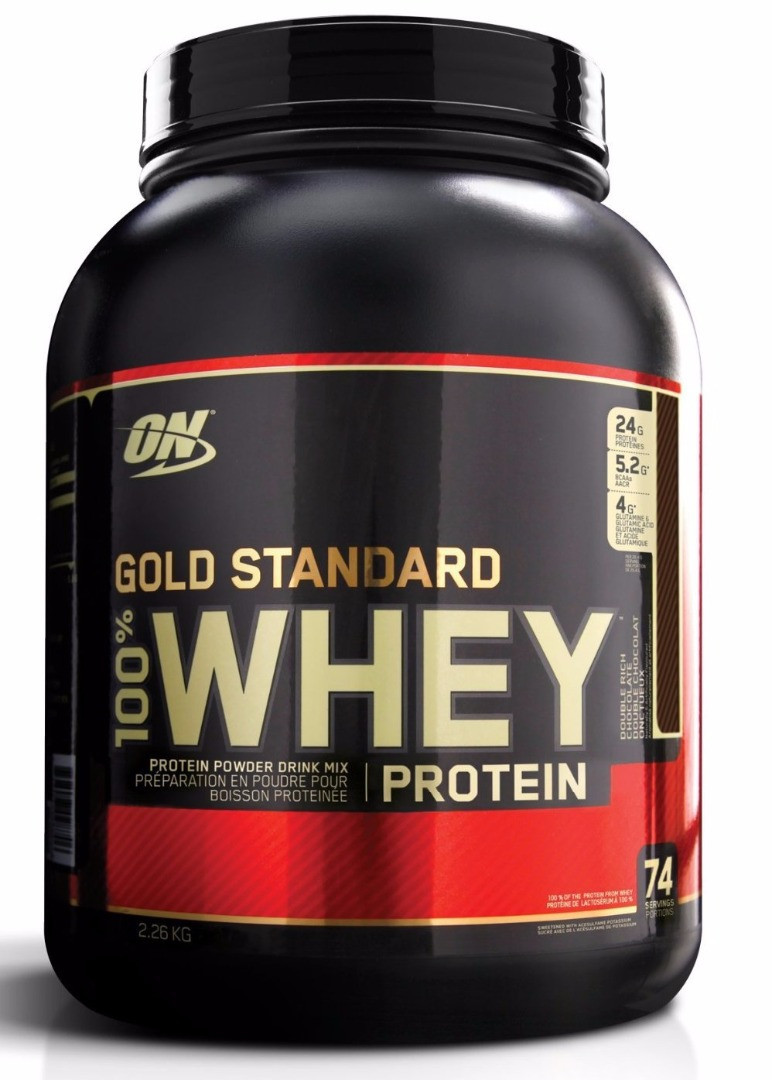 Optimum Nutrition Gold Standard 100% Whey Protein, Протеин (2273 гр.)