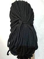 Шнур ХБ круглый 8мм/100метров (чёрный)