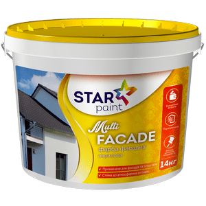 Краска интерьерная Multi Facade STAR PAINT, 7кг