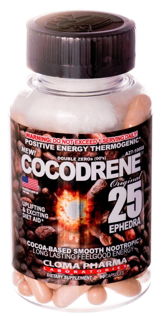 Cloma Pharma Cocodrene 25 (90 капс.)