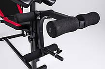 Лава тренувальна Hop-Sport HS-1070 + верхня тяга + парта скотта, фото 3