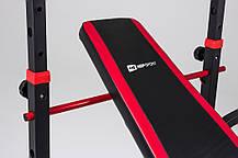 Скамья тренировочная Hop-Sport HS-1070 + верхняя тяга + парта скотта , фото 3