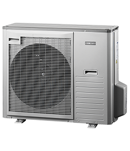 Воздушный инверторный тепловой насос Воздух/Фреон NIBE SPLIT AMS 10-8 (Площадь отопления до 100 кв.м. 8 кВт)