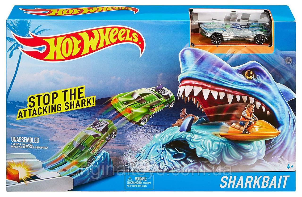 Игровой трек Hot Wheels Наживка для акулы FCF20