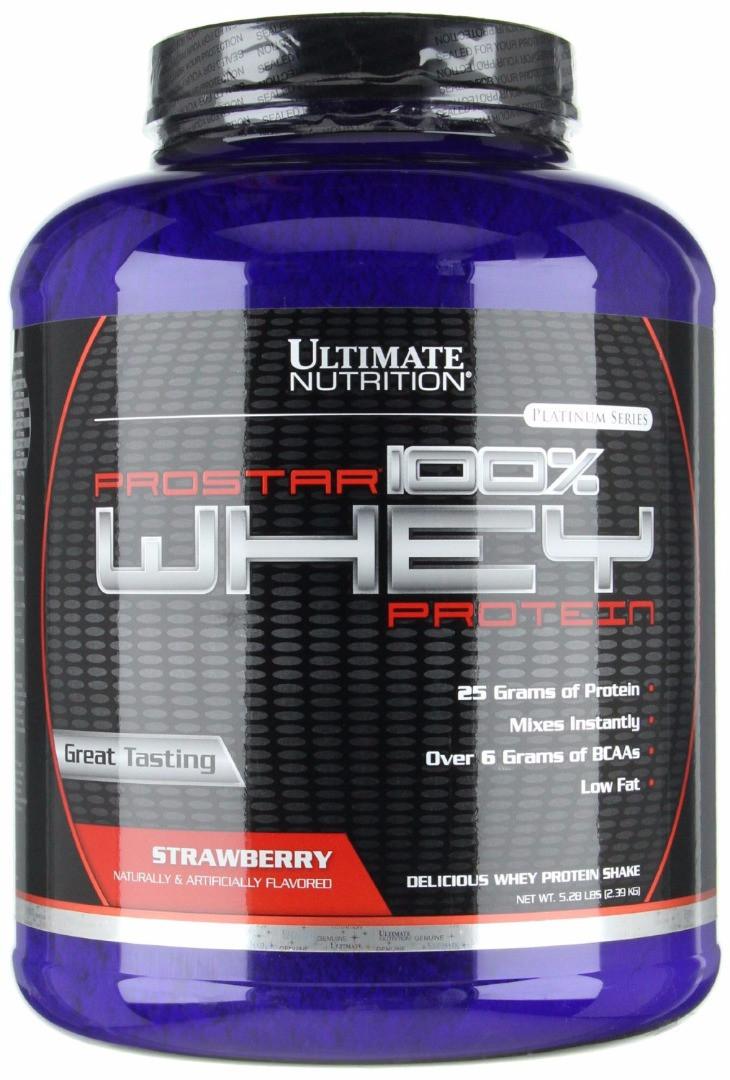 Ultimate Nutrition Prostar 100% Whey (2390 гр.)