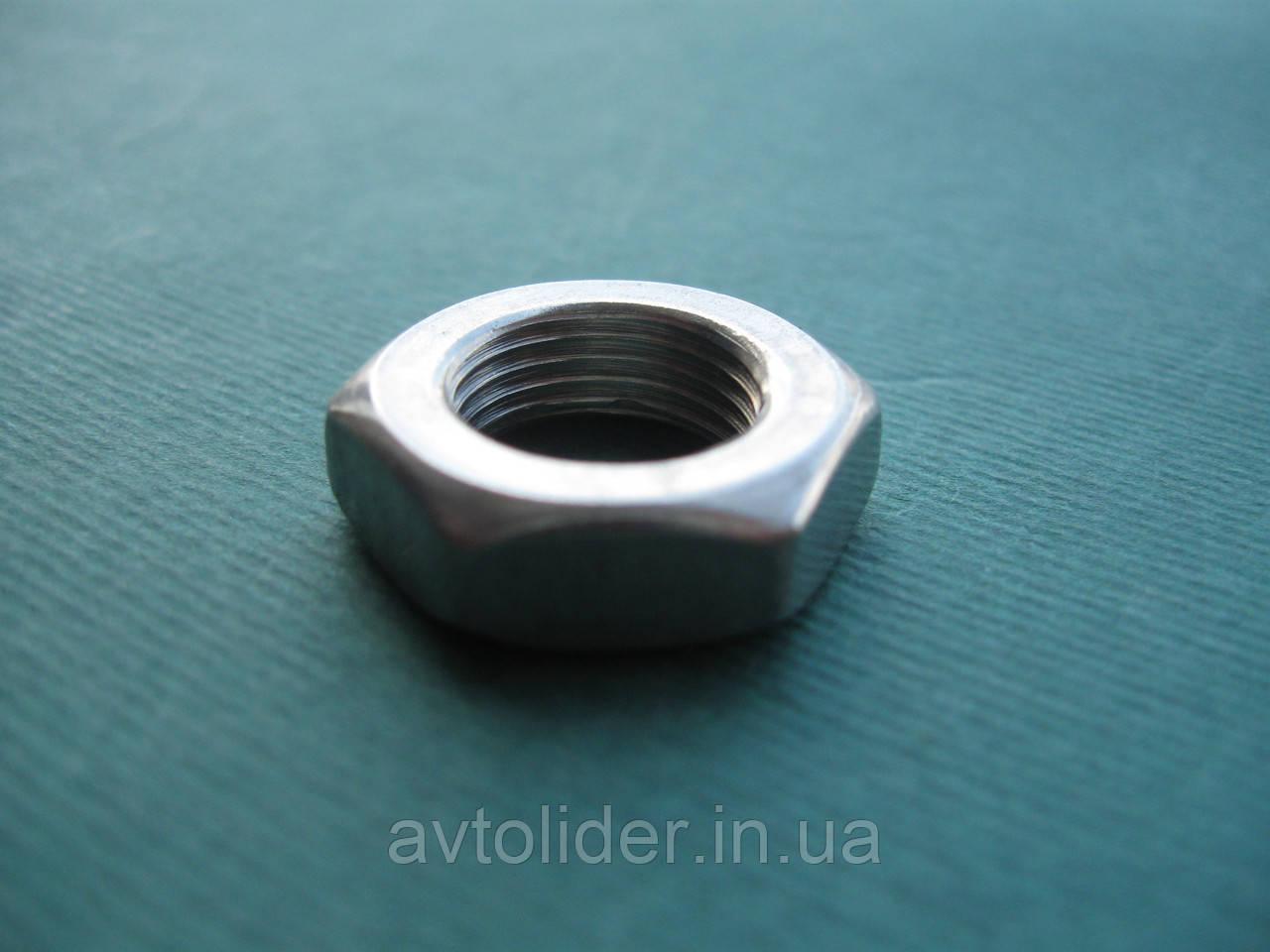 DIN 439 (ГОСТ 5615-70; ISO 4035) - Нержавеющая гайка шестигранная низкая