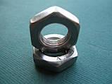 DIN 439 (ГОСТ 5615-70; ISO 4035) - Нержавеющая гайка шестигранная низкая, фото 2