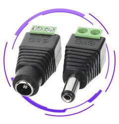 DC кабелі живлення, перехідники, роз'єми, дільники живлення