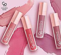 Кремовая матовая помада для губ Golden Rose Soft & Matte Creamy Lipcolor