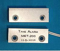 Датчик герконовый для сигнализации  TANE MET-200 ARM в металле ( металлорукав)