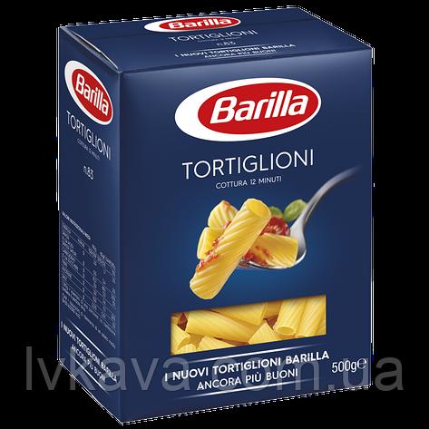 Макаронные изделия TORTIGLIONI Barilla, 500 гр, фото 2