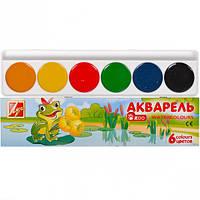 Акварель «Мини» 6 цветов картон «Луч»  1246-08