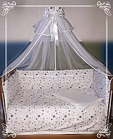 Комплект в детскую кроватку. Звездочка.