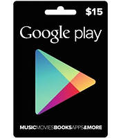 Google Play Gift $15 (USA)