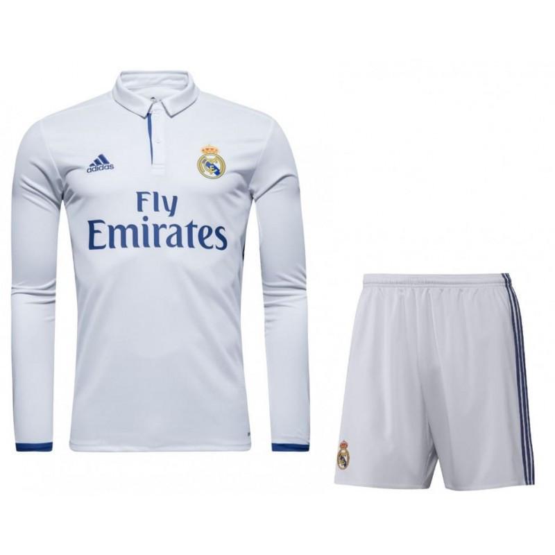 """Футбольная форма """"Реал Мадрид"""" с  длинным рукавом (домашняя), сезон 16/17"""
