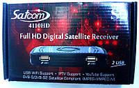 Спутниковый ресивер тюнер Satcom 4110 HD +Прошивка +гарантия12 мес